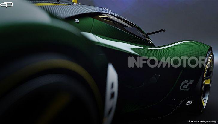 Lotus Evil Vision GT Concept: una nuova rivale per Ferrari? - Foto 11 di 25