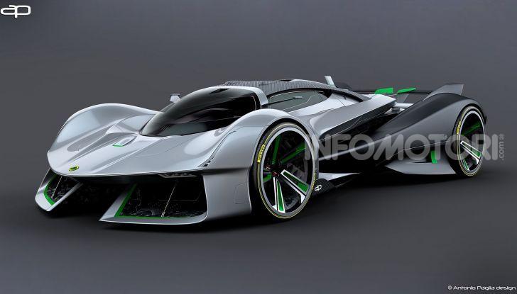 Lotus Evil Vision GT Concept: una nuova rivale per Ferrari? - Foto 12 di 25