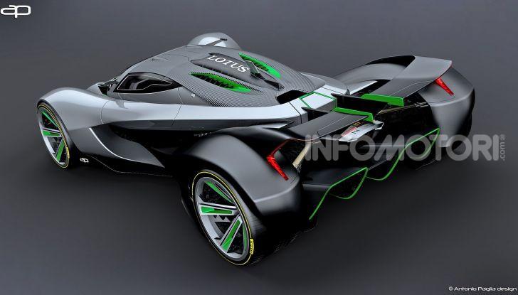 Lotus Evil Vision GT Concept: una nuova rivale per Ferrari? - Foto 14 di 25