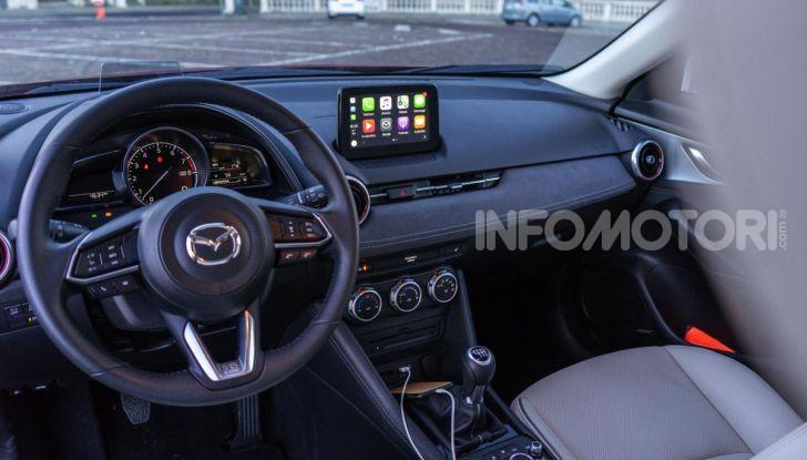 Prova Mazda CX-3 con il benzina da 121CV: tanto divertimento e stile! - Foto 25 di 36