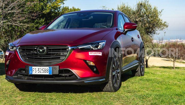 Prova Mazda CX-3 con il benzina da 121CV: tanto divertimento e stile! - Foto 3 di 36