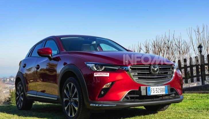 Prova Mazda CX-3 con il benzina da 121CV: tanto divertimento e stile! - Foto 13 di 36