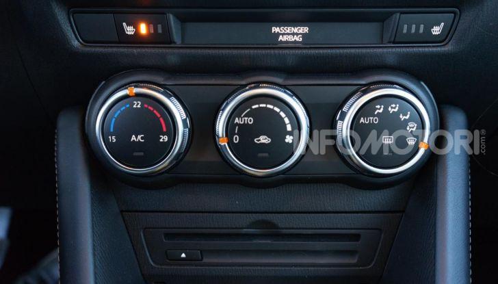 Prova Mazda CX-3 con il benzina da 121CV: tanto divertimento e stile! - Foto 20 di 36