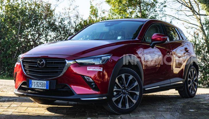 Prova Mazda CX-3 con il benzina da 121CV: tanto divertimento e stile! - Foto 14 di 36