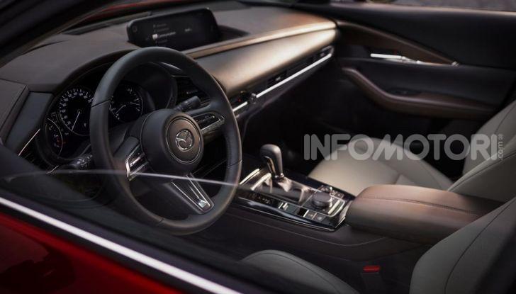 Mazda CX-30, il SUV compatto anche Mild Hybrid - Foto 18 di 19