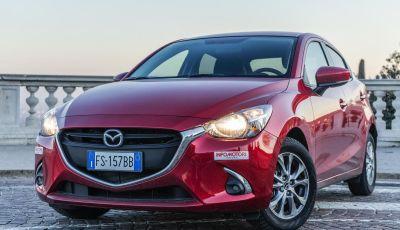Prova nuova Mazda2: la leggerezza dell'1.5 Skyactiv-G da 90CV a benzina