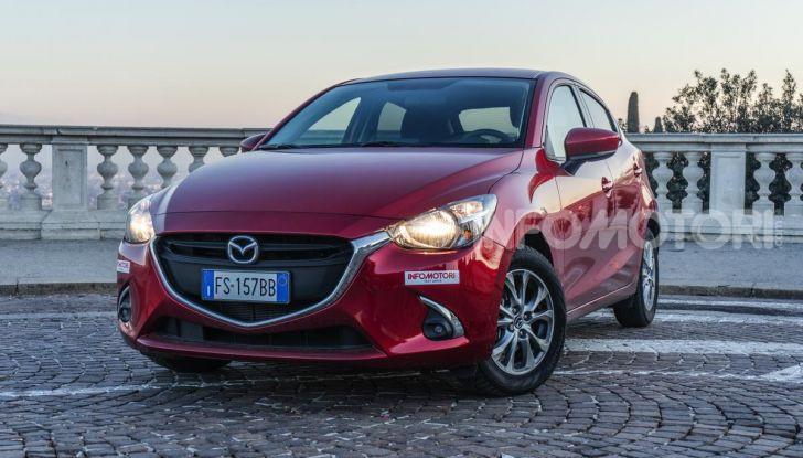 Prova nuova Mazda2: la leggerezza dell'1.5 Skyactiv-G da 90CV a benzina - Foto 3 di 26