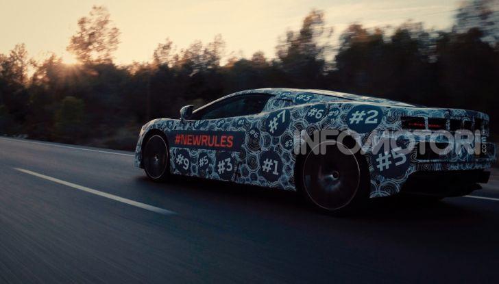 McLaren scalda i motori: pronta una nuova Grand Tourer - Foto 51 di 51