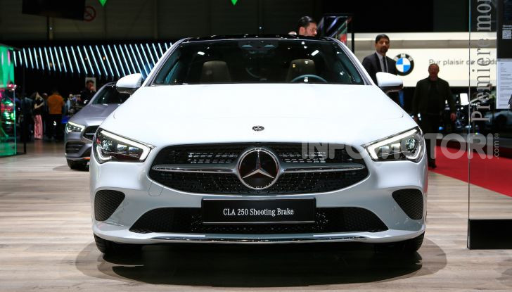 Mercedes CLA Shooting Brake: la berlina tedesca con l'aria da coupé - Foto 2 di 28