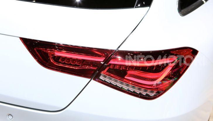 Mercedes CLA Shooting Brake: la berlina tedesca con l'aria da coupé - Foto 10 di 28