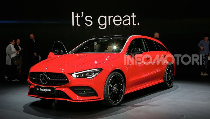 Mercedes CLA Shooting Brake: la berlina tedesca con l'aria da coupé - Foto 20 di 28