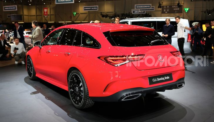 Mercedes CLA Shooting Brake: la berlina tedesca con l'aria da coupé - Foto 21 di 28
