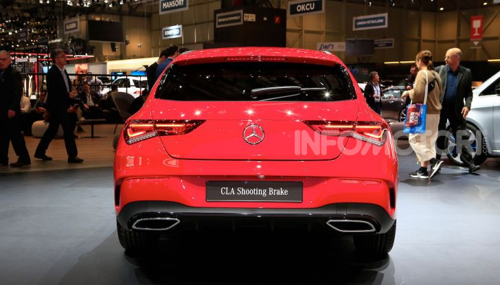 Mercedes CLA Shooting Brake: la berlina tedesca con l'aria da coupé - Foto 22 di 28