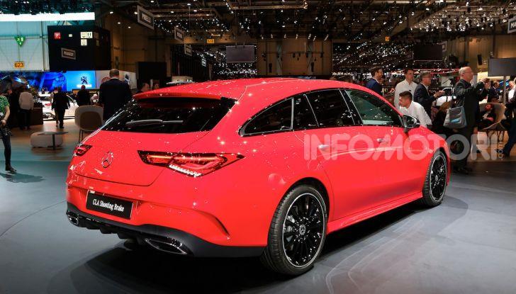 Mercedes CLA Shooting Brake: la berlina tedesca con l'aria da coupé - Foto 23 di 28