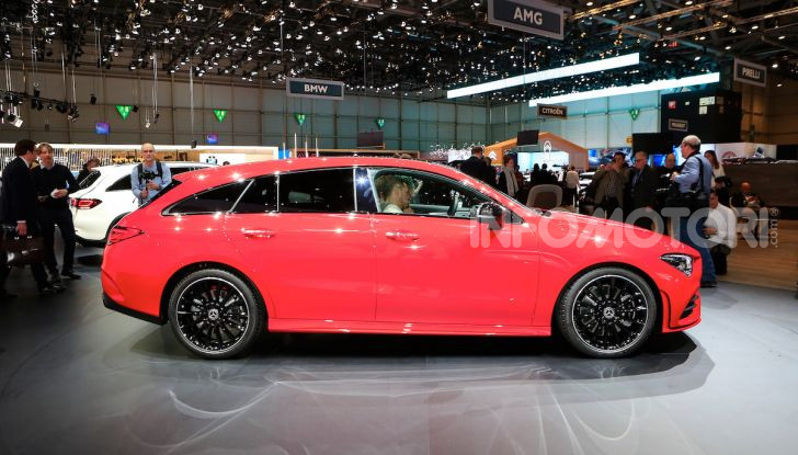 Mercedes CLA Shooting Brake: la berlina tedesca con l'aria da coupé - Foto 24 di 28