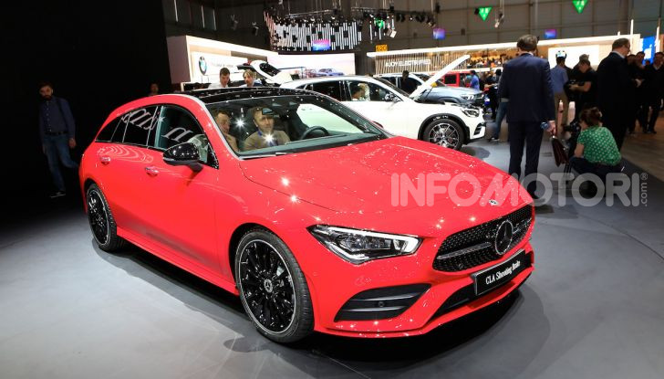 Mercedes CLA Shooting Brake: la berlina tedesca con l'aria da coupé - Foto 26 di 28