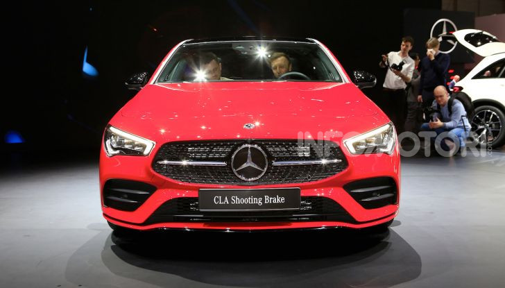 Mercedes CLA Shooting Brake: la berlina tedesca con l'aria da coupé - Foto 28 di 28