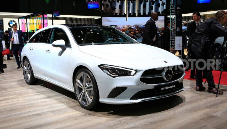 Mercedes CLA Shooting Brake: la berlina tedesca con l'aria da coupé - Foto 1 di 28