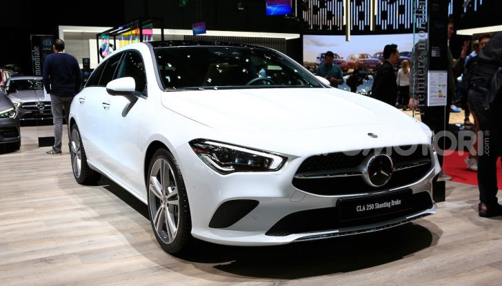 Mercedes CLA Shooting Brake: la berlina tedesca con l'aria da coupé - Foto 5 di 28