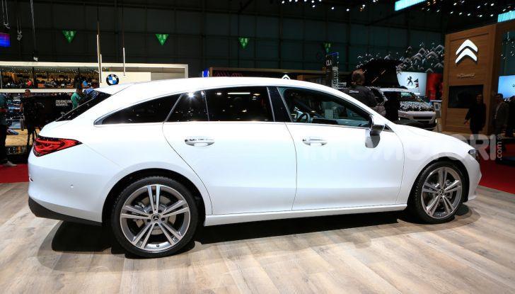 Mercedes CLA Shooting Brake: la berlina tedesca con l'aria da coupé - Foto 9 di 28