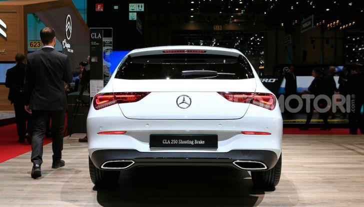 Mercedes CLA Shooting Brake: la berlina tedesca con l'aria da coupé - Foto 6 di 28