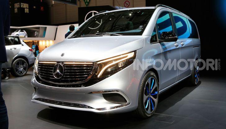 Mercedes Concept EQV: il primo monovolume premium 100% elettrico - Foto 3 di 11