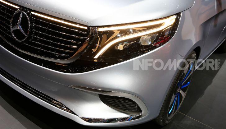 Mercedes Concept EQV: il primo monovolume premium 100% elettrico - Foto 2 di 11