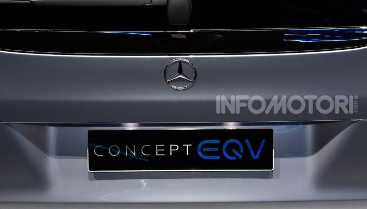 Mercedes Concept EQV: il primo monovolume premium 100% elettrico - Foto 9 di 11