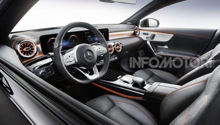 Mercedes CLA Coupé 2019: motori e prezzi della nuova generazione - Foto 5 di 19