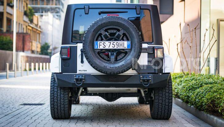Prova su strada Militem Wrangler JIII: non chiamatela Jeep! - Foto 2 di 27