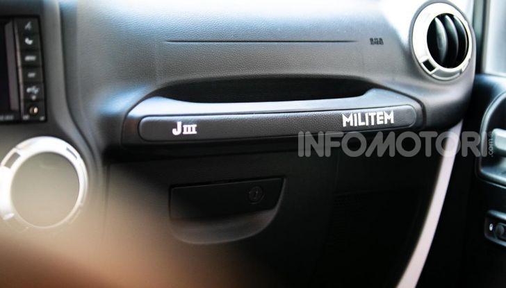 Prova su strada Militem Wrangler JIII: non chiamatela Jeep! - Foto 6 di 27