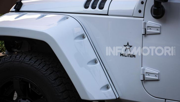 Prova su strada Militem Wrangler JIII: non chiamatela Jeep! - Foto 3 di 27