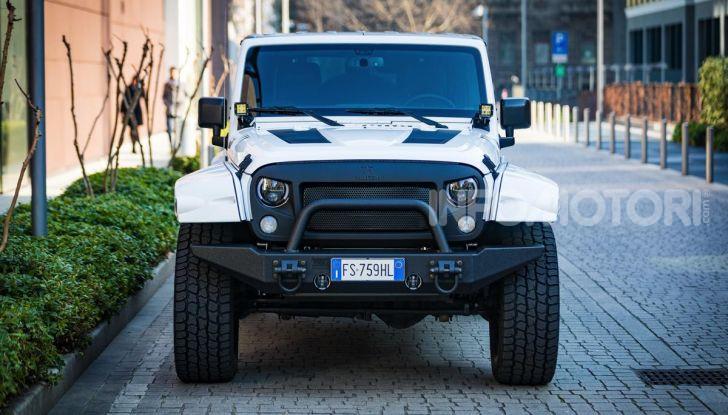 Prova su strada Militem Wrangler JIII: non chiamatela Jeep! - Foto 1 di 27