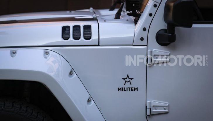 Prova su strada Militem Wrangler JIII: non chiamatela Jeep! - Foto 4 di 27