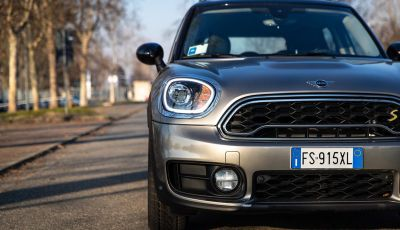Prova MINI Countryman ibrida plug-in 2019: 224CV per risparmiare