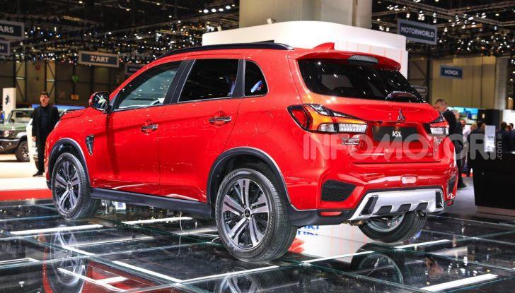 Nuovo Mitsubishi ASX 2020: restyling nipponico per il SUV compatto - Foto 14 di 20