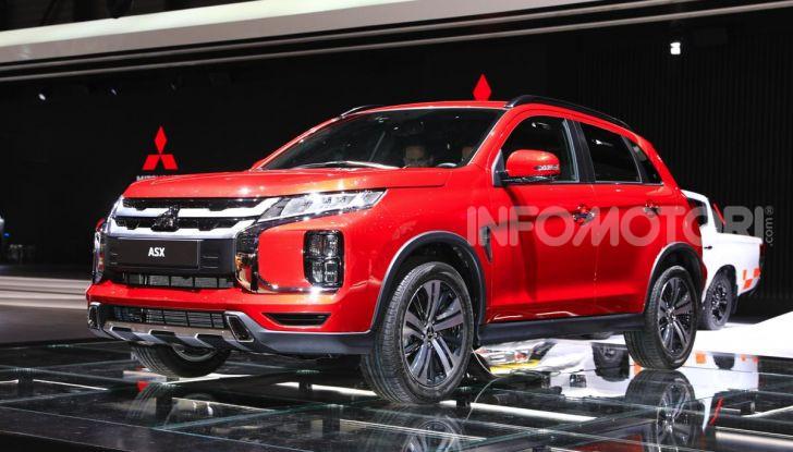 Nuovo Mitsubishi ASX 2020: restyling nipponico per il SUV compatto - Foto 4 di 20