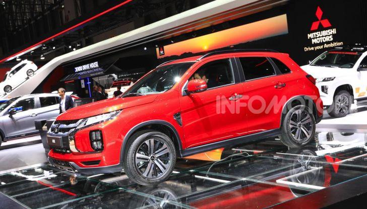 Nuovo Mitsubishi ASX 2020: restyling nipponico per il SUV compatto - Foto 16 di 20