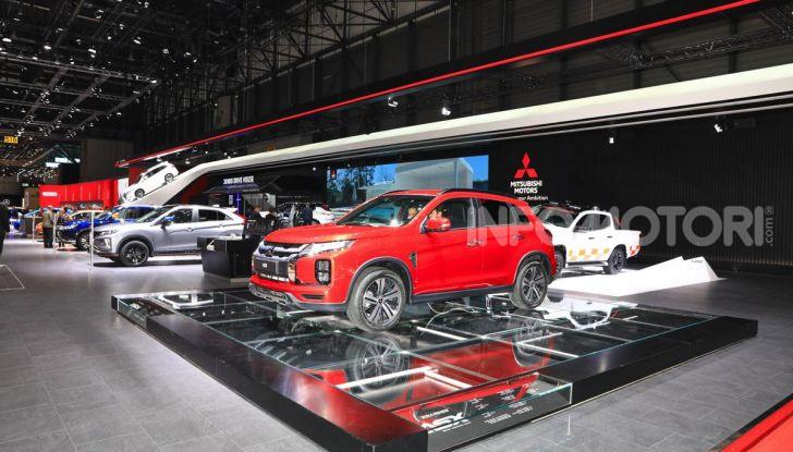 Nuovo Mitsubishi ASX 2020: restyling nipponico per il SUV compatto - Foto 17 di 20