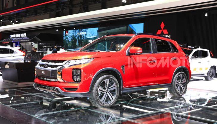 Nuovo Mitsubishi ASX 2020: restyling nipponico per il SUV compatto - Foto 1 di 20