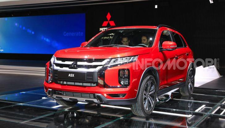 Nuovo Mitsubishi ASX 2020: restyling nipponico per il SUV compatto - Foto 2 di 20