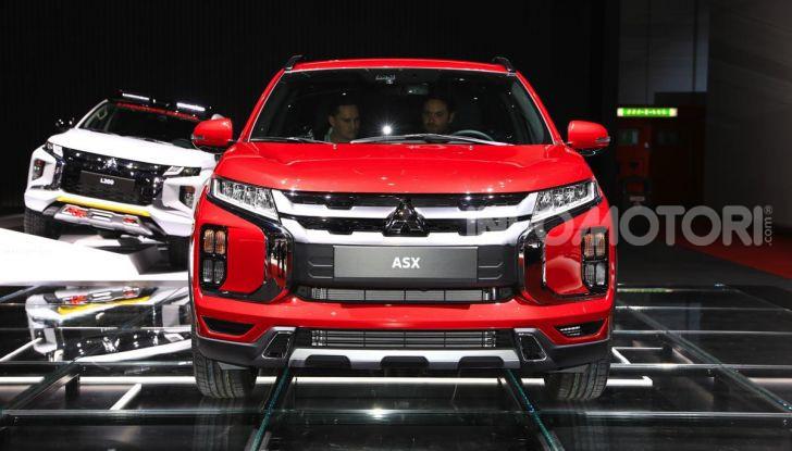Nuovo Mitsubishi ASX 2020: restyling nipponico per il SUV compatto - Foto 18 di 20