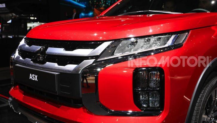 Nuovo Mitsubishi ASX 2020: restyling nipponico per il SUV compatto - Foto 8 di 20
