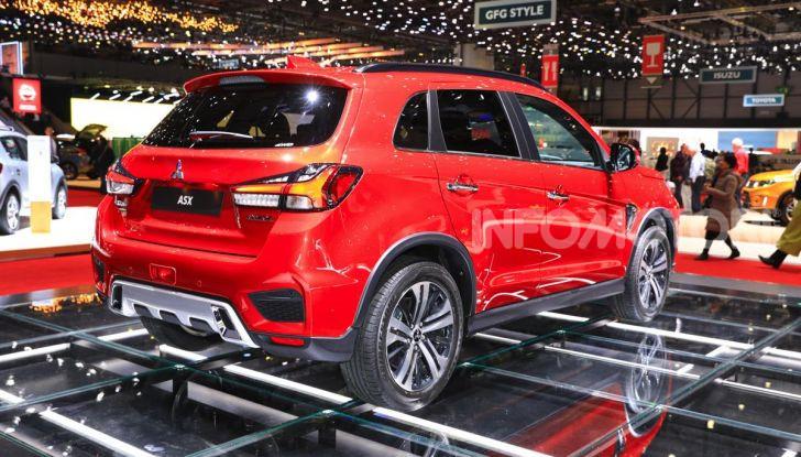 Nuovo Mitsubishi ASX 2020: restyling nipponico per il SUV compatto - Foto 11 di 20