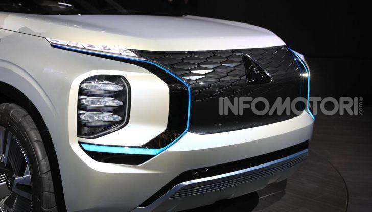 Mitsubishi Engelberg Tourer: SUV elettrico per il Salone di Ginevra 2019 - Foto 13 di 40