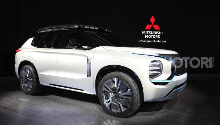 Mitsubishi Engelberg Tourer: SUV elettrico per il Salone di Ginevra 2019 - Foto 17 di 40