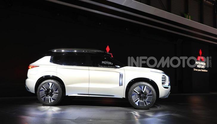 Mitsubishi Engelberg Tourer: SUV elettrico per il Salone di Ginevra 2019 - Foto 18 di 40