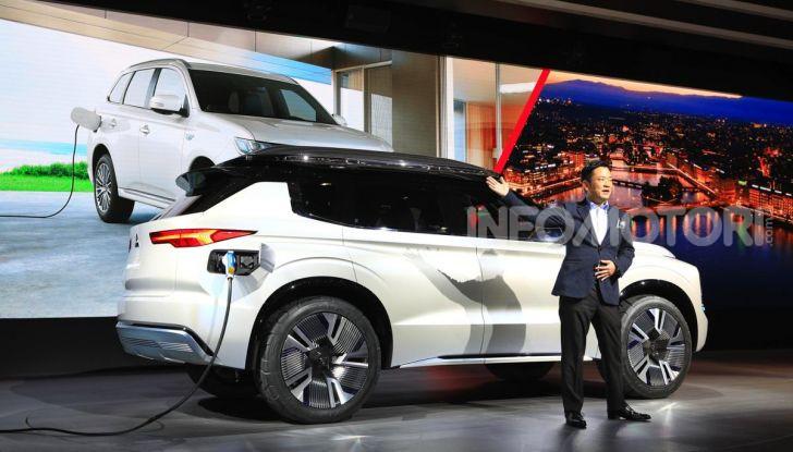 Mitsubishi Engelberg Tourer: SUV elettrico per il Salone di Ginevra 2019 - Foto 20 di 40