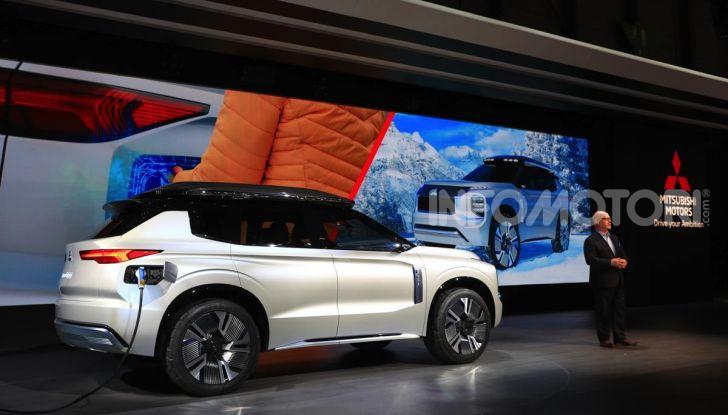 Mitsubishi Engelberg Tourer: SUV elettrico per il Salone di Ginevra 2019 - Foto 21 di 40