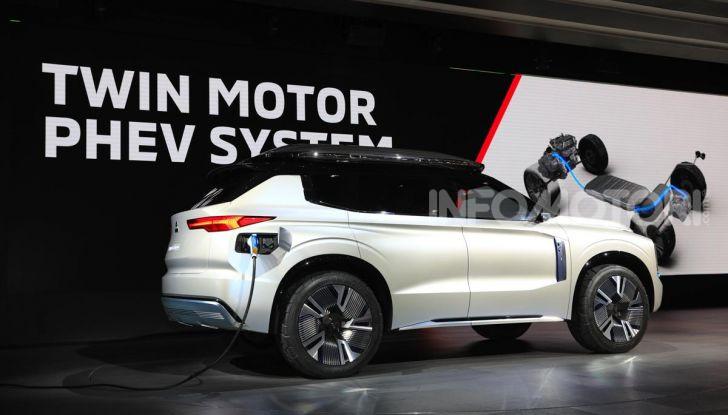 Mitsubishi Engelberg Tourer: SUV elettrico per il Salone di Ginevra 2019 - Foto 23 di 40